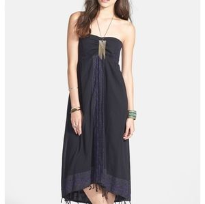 "🖤FREE PEOPLE ""STAR OF INDIA "" EMBROIDERED DRESS"